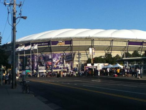 The Metrodome - Home of the Minnesota Vikings